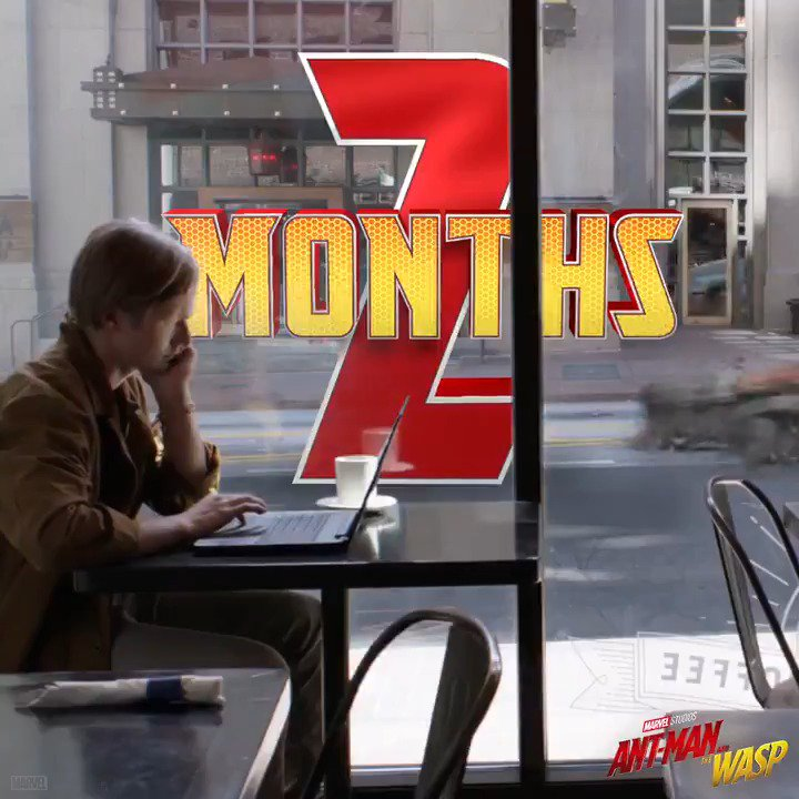 Two months until Marvel Studios' '@AntMan and The Wasp.' #AntManandtheWasp https://t.co/AKwaMTPpcY