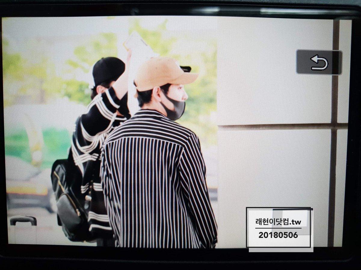 [vista previa] 180506 #진온 JinOn & RaeHyun  entrada al aeropuerto de Gimpo 포커즈  DcfnDcvU8AAq8YL