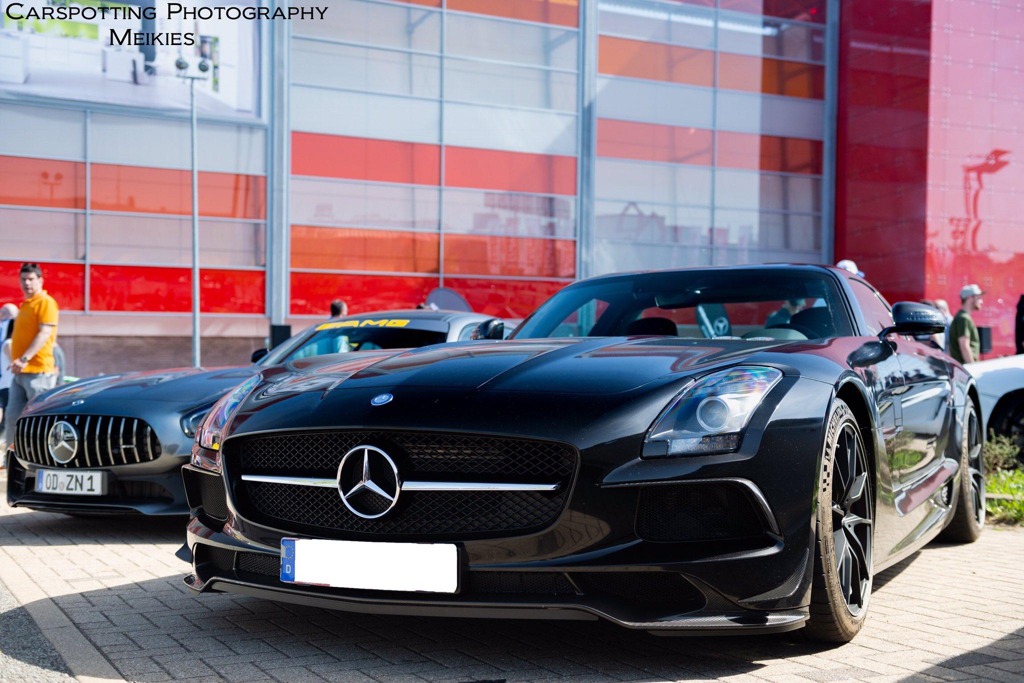 """CoP H Studio Event 📸 on Twitter """"1 of 150🏆 Mercedes Benz SLS AMG"""