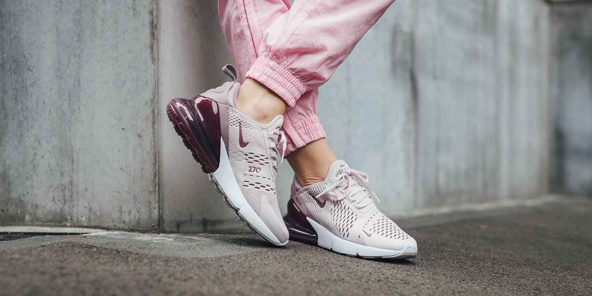 innovative design ed14f 22fba Now online ! Nike Wmns Air Max 270 - Barely Rose Vintage Wine-Elemental Rose  SHOP HERE  http   bit.ly 2Ju3mGD pic.twitter.com 31DeSmfWmo