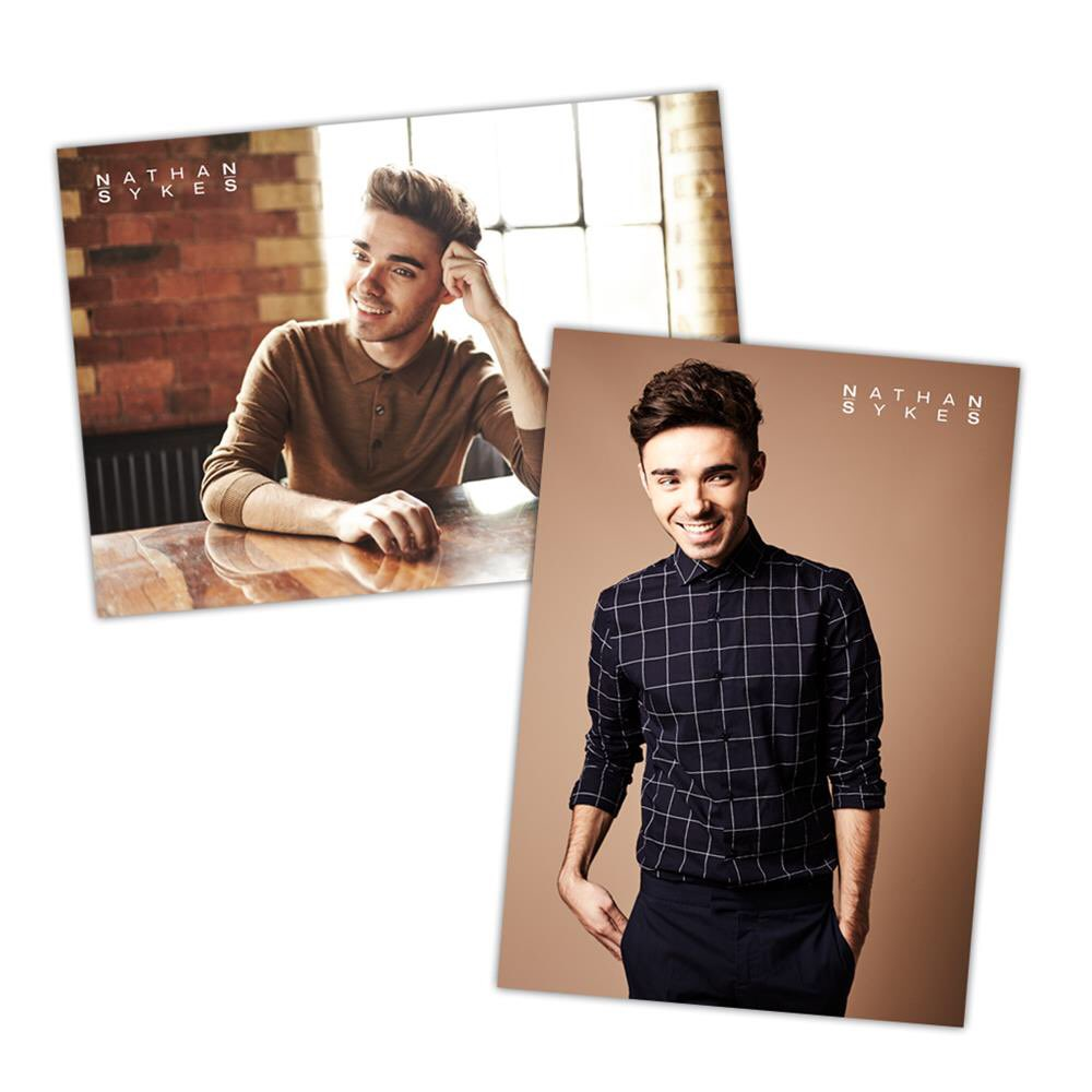 Have you ordered your @NathanSykes posters yet? You get BOTH when you order. Get 'em quick! Your walls will thank you. 😉😍 nathansykes.livenationmerch.com