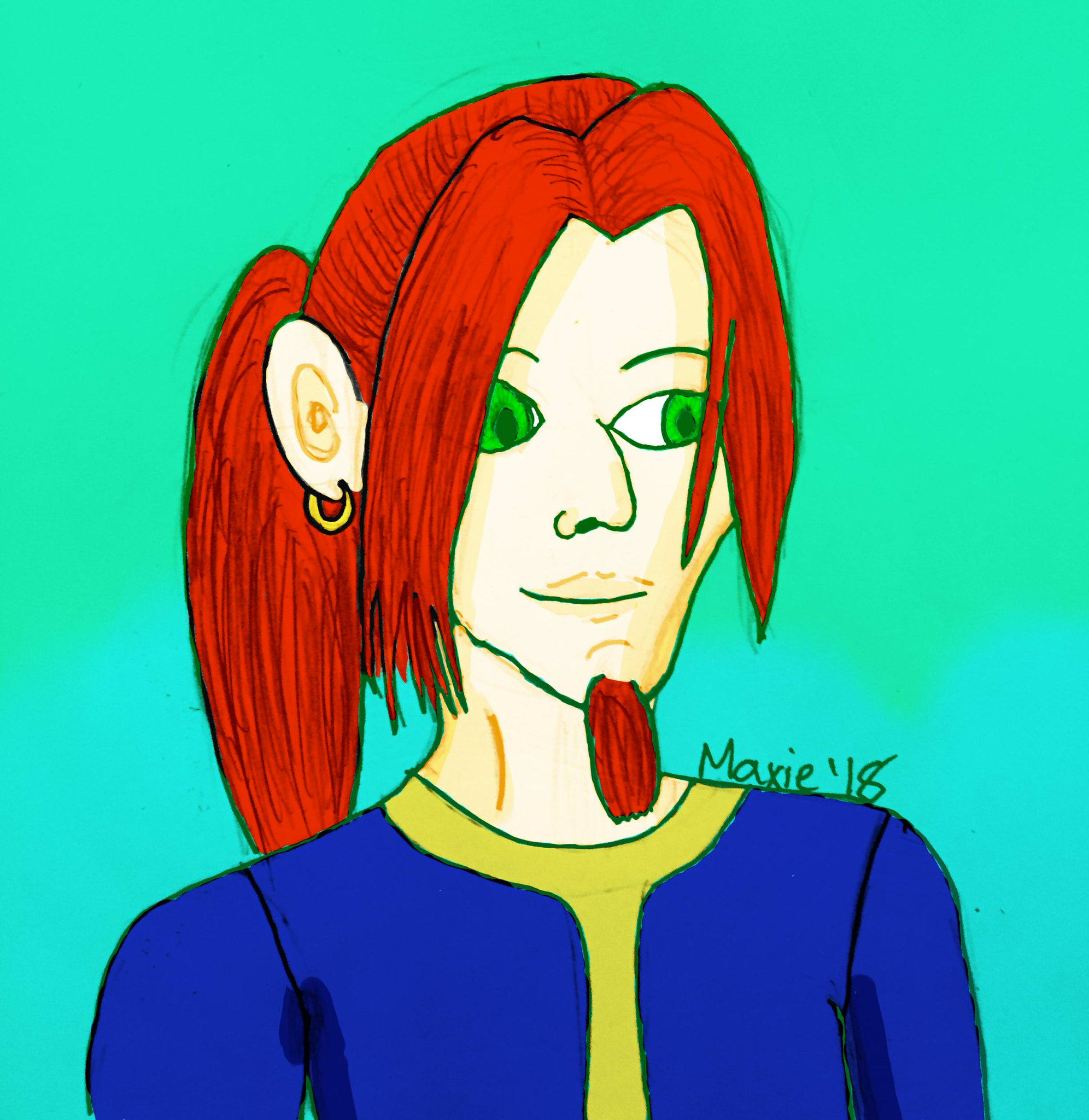 //Happy birthday to my partner in crime I drew his LW Maxwell :3