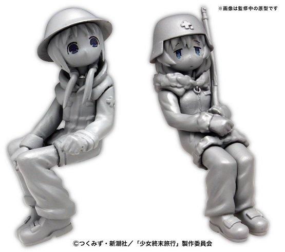 プラッツ 少女終末旅行 ケッテンクラート w/チト&ユーリ フィギュア2体セット プラモデル GLT-01に関する画像7