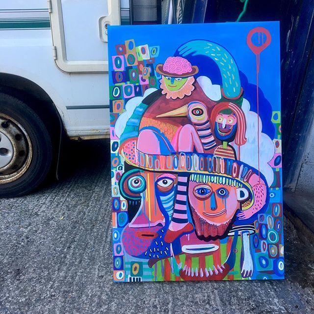 Fabric Lenny On Twitter Painting On Wood Artist Fun Art