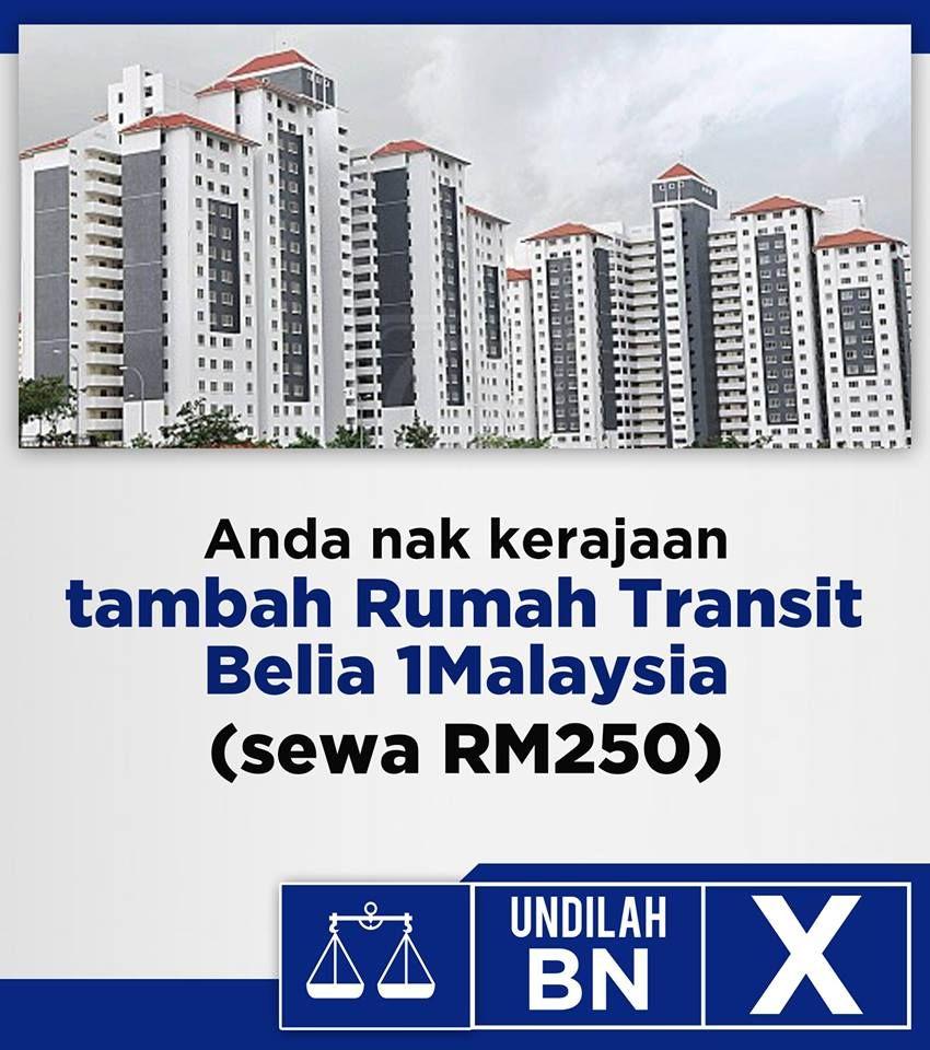 Friendsofbn On Twitter Anda Nak Rumah Transit 1malaysia Yang Sewanya Cuma Rm250 Sahaja Undilah Bn Kitapilihbiru