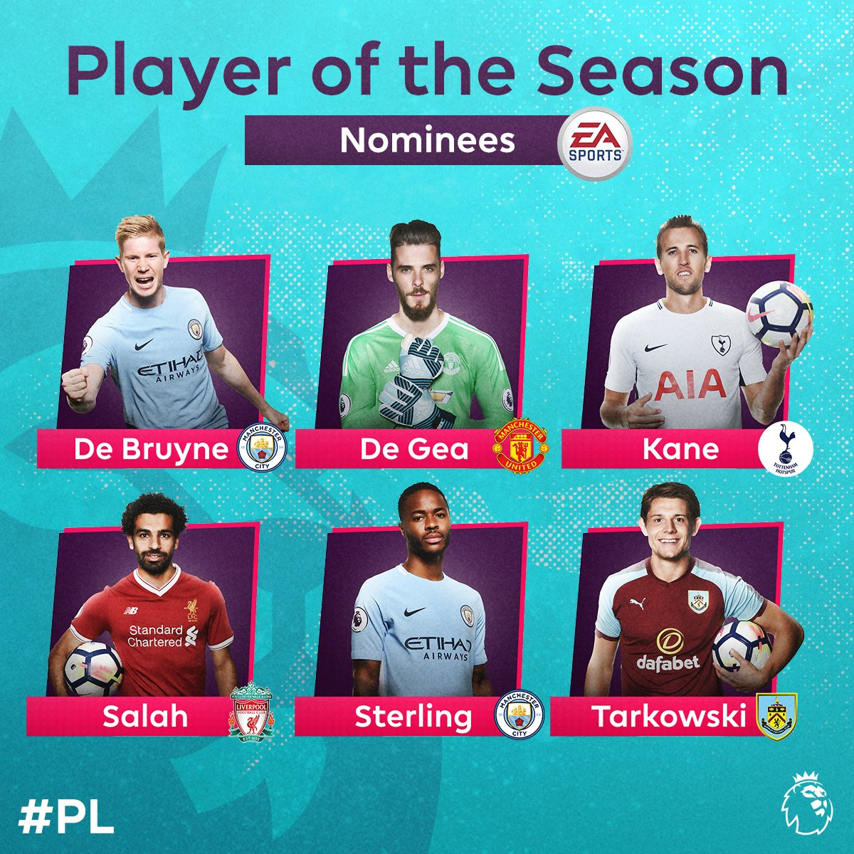 And the nominations for @EASPORTSFIFA Player of the Season are...  Vote: https://t.co/WJmEFqJqLf   #PLAwards