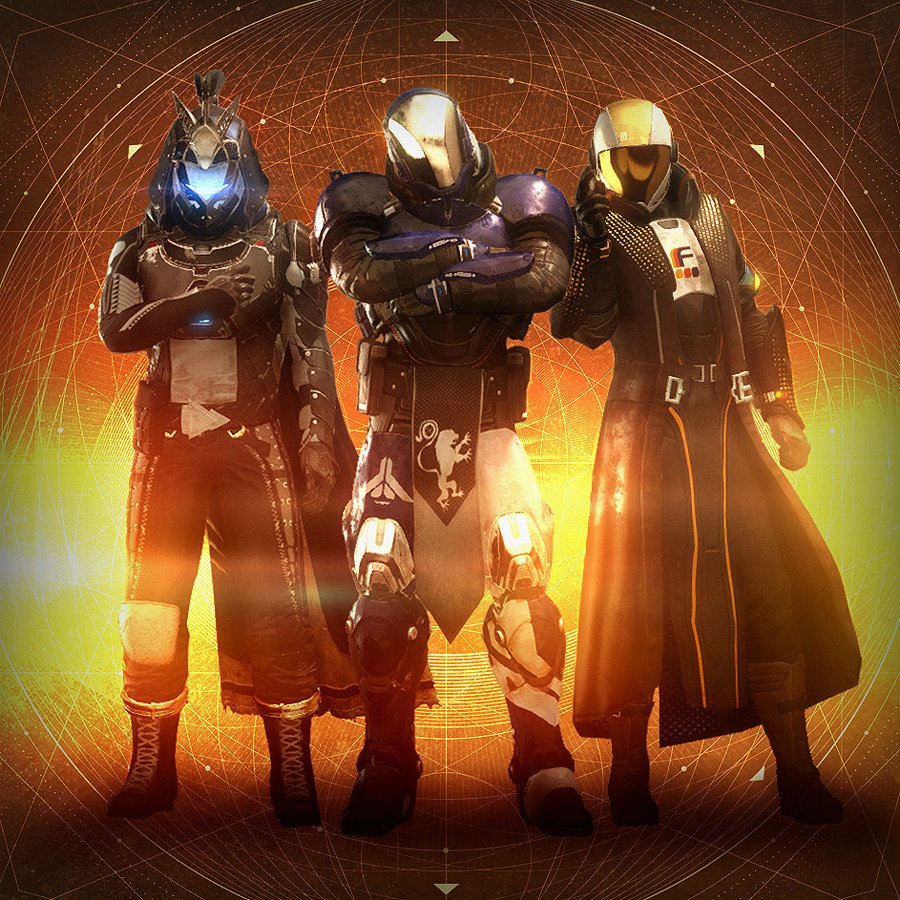 Final Season 2/Curse of Osiris group photo! Ready for some Rasputin gear to change things up.