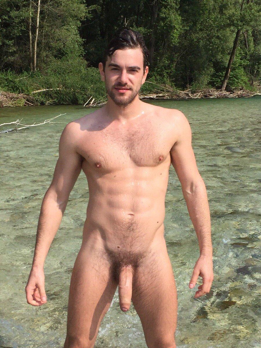 Nude Man Fighting To Photograph Sunbathing Women