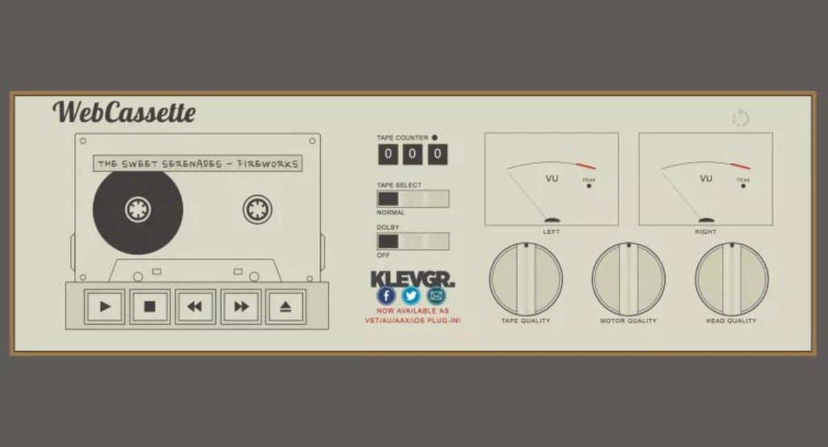 懐かしさに涙しそう。mp3をカセットプレイヤー音質で再生できるウェブアプリ #Web #音楽 https://t.co/gXQGaGmCMF