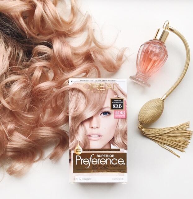 Rose Blonde Hair Colors Preference Hair Color Shade Medium