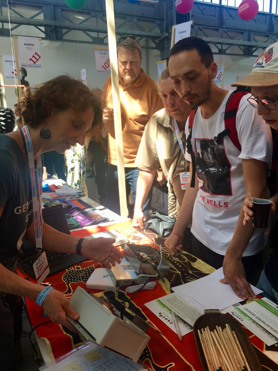 test Twitter Media - Busy at the #Makerfaire #vienna to present @captor_air #CitizenScience #ozone #sensor #CaptorProject https://t.co/qRvau5ZBca