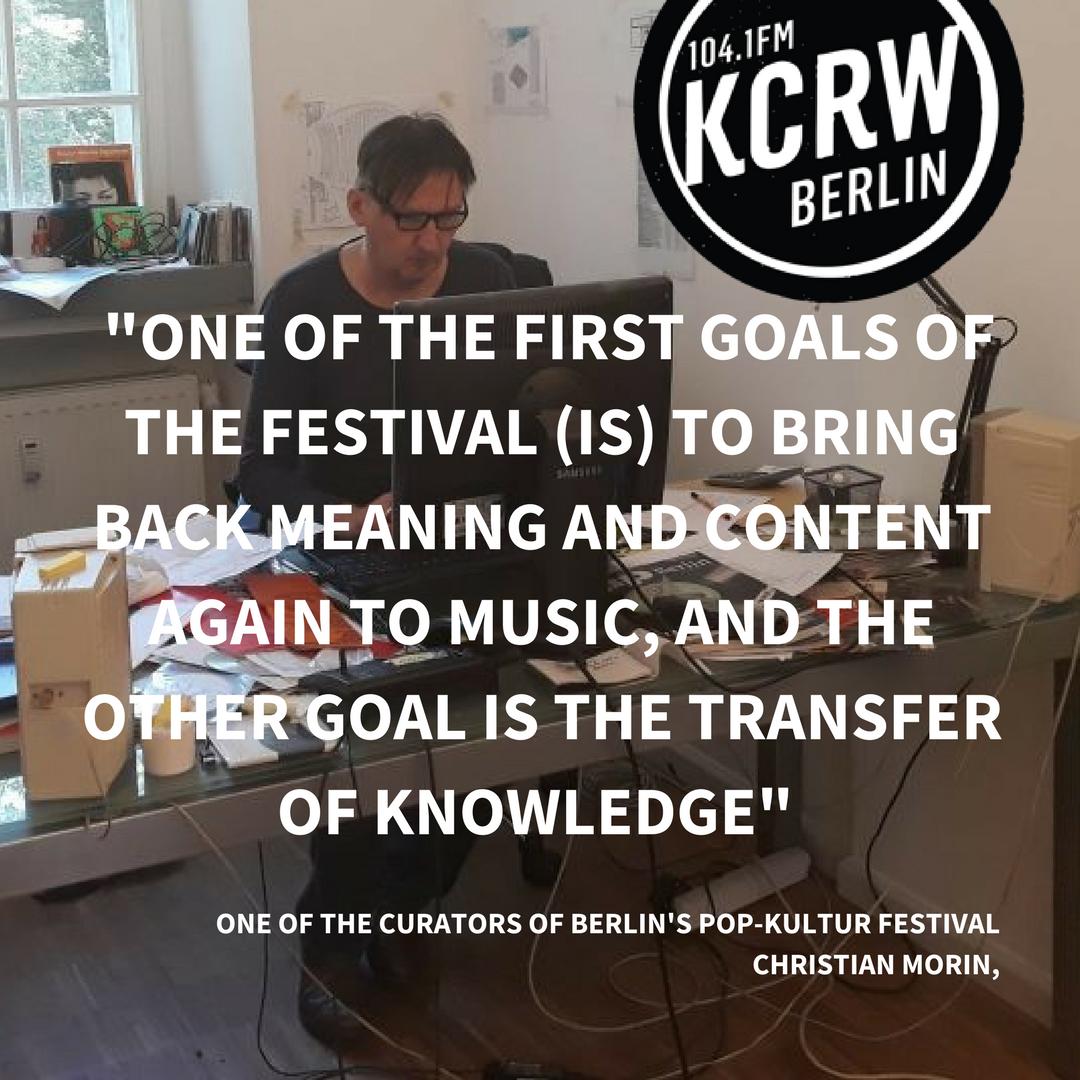 KCRW Berlin on Twitter: