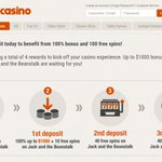 Image for the Tweet beginning: Instacasino offering a 15 free