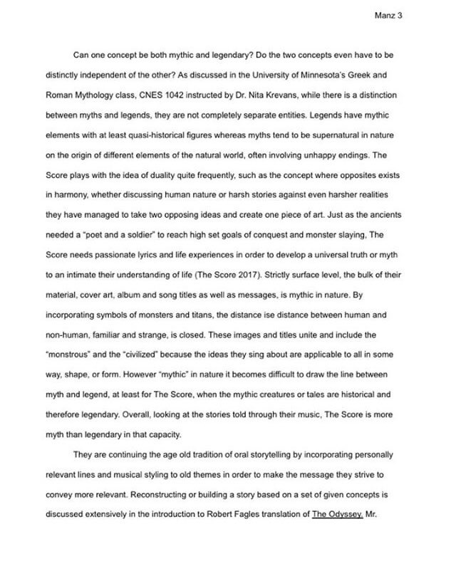Essay Format Example For High School  Am   May  Essay Writing Topics For High School Students also Sample Essay Topics For High School The Score On Twitter Someone Wrote An Essay About Our Music For  Example Of Essay Proposal