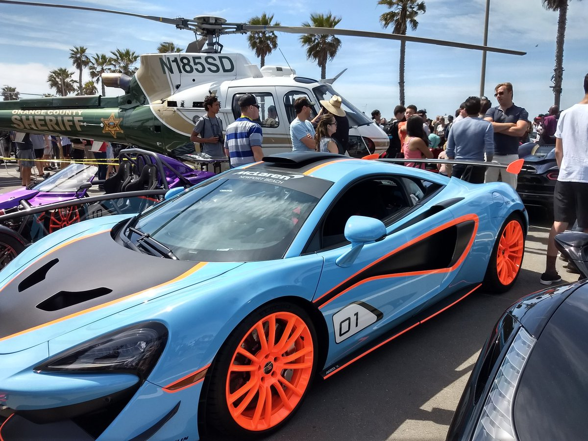 Dave Kunz On Twitter Inaugural Cars N Copters Show In Huntington - Huntington beach car show