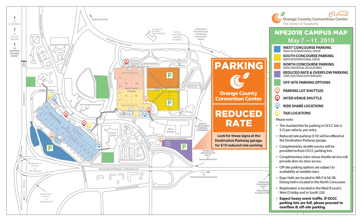 Oc Campus Map.Oc Convention Center On Twitter Heading Over To Plastics Us