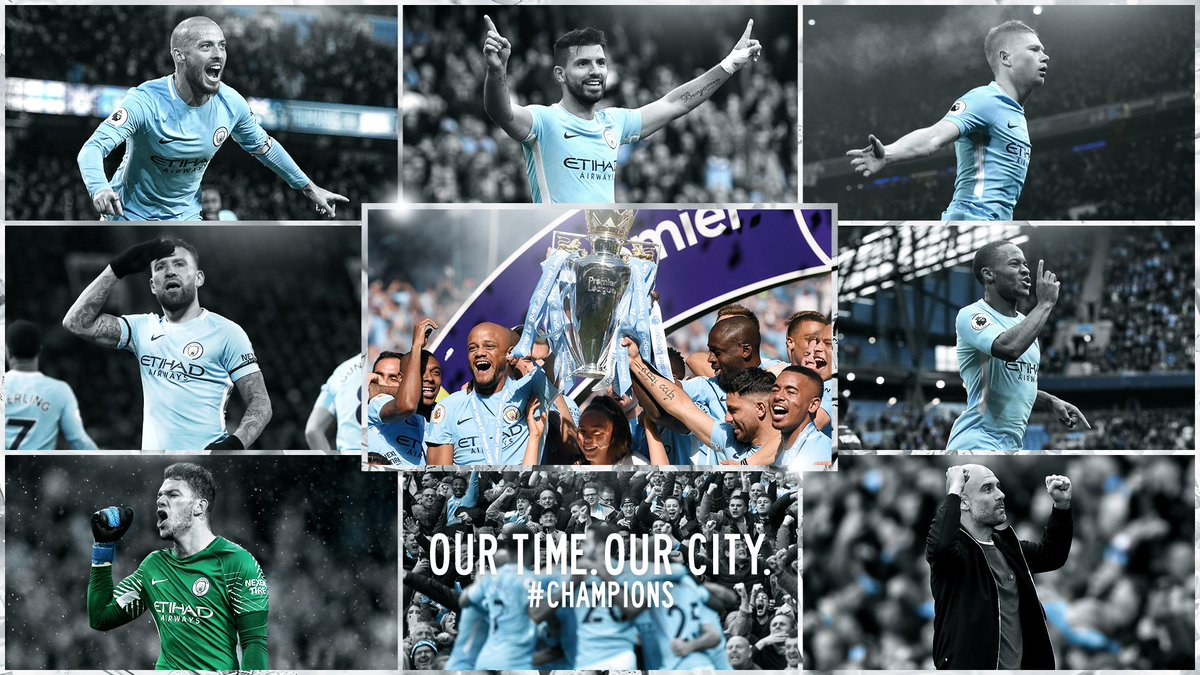 Shaun Campbell On Twitter Manchester City 201718