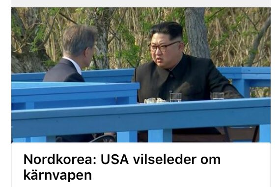 Nordkorea usa vilseleder