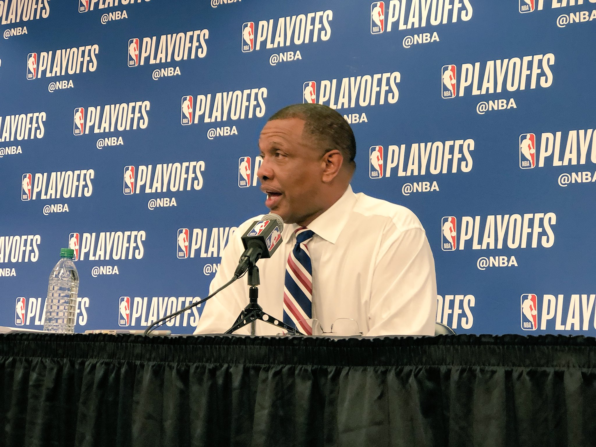 Gentry is speaking with the media postgame. Watch live: https://t.co/es6YOqpLj6 #DoItBigger   (Via @dixiebrewco) https://t.co/Hw10Q5Rok5