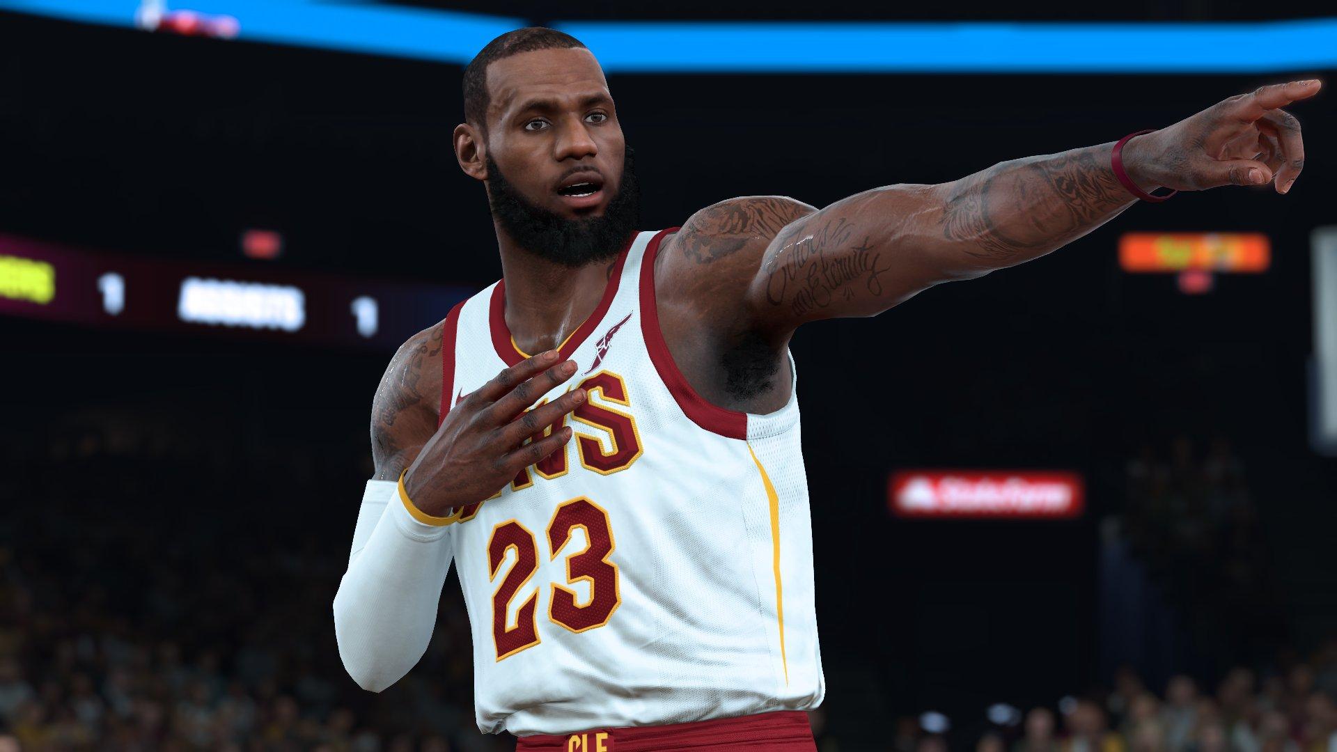 NBA 2K19 Screenshot - LeBron James (Overall Rating - 98