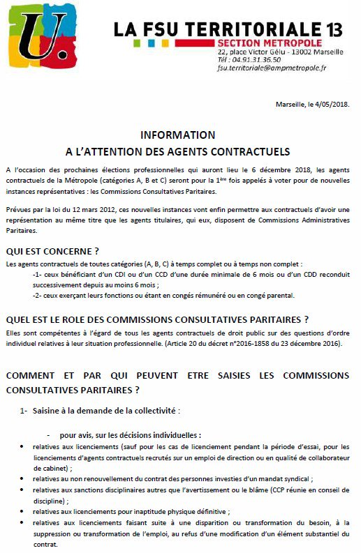 Fsu Territoriale On Twitter Information A L Attention Des Agents