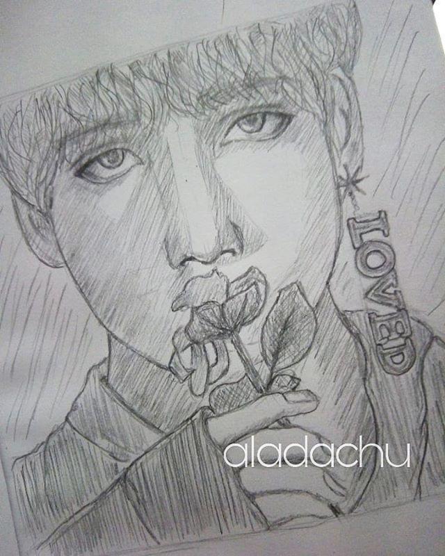 Aladachu Draw On Twitter Taehyung Draw
