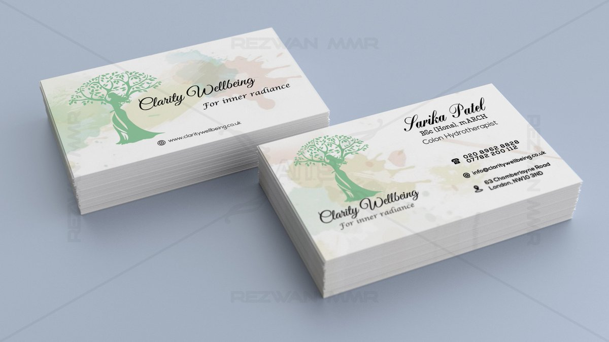 Twitter Business Card Gallery - Business Card Template