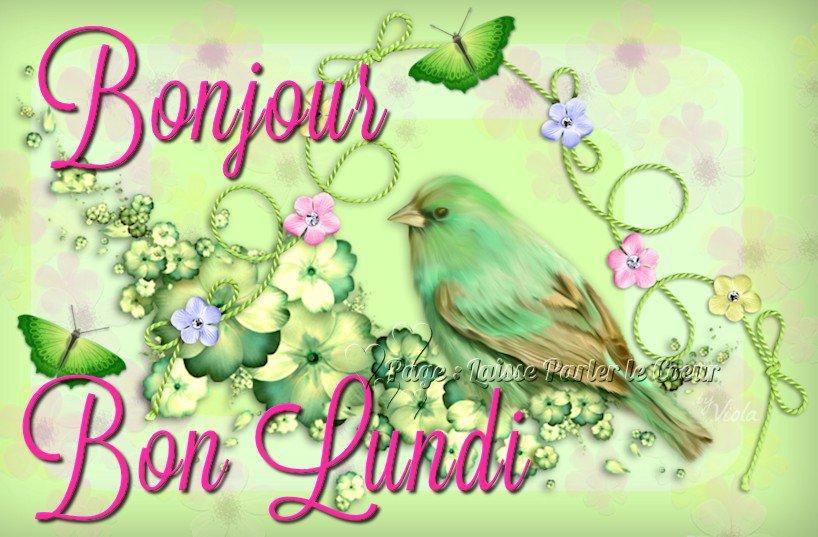 Patricia J Di Twitter Bonjour Bon Lundi Et Bon Courage A