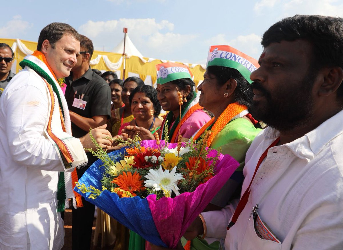 Karnataka will reject PM Modi, BJP: Rahul Gandhi