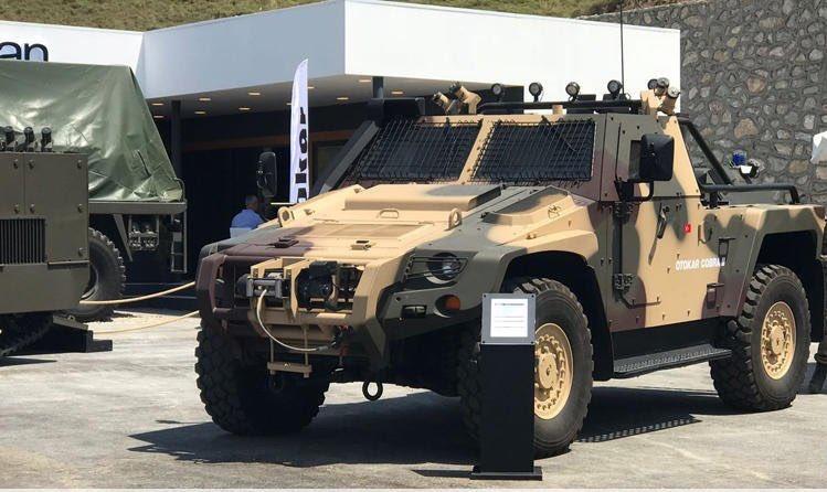 """""""أوتوكار"""" التركية تنوي الكشف عن مدرعه  Cobra II قريبا DclmRNOW0AEwCif"""