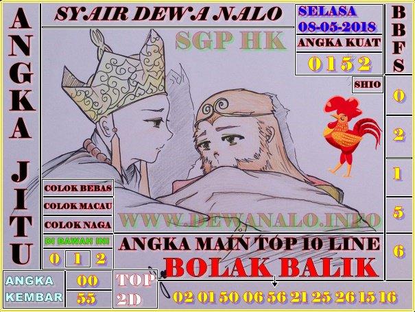 Syair Dewa Nalo Selasa 08-05-2018