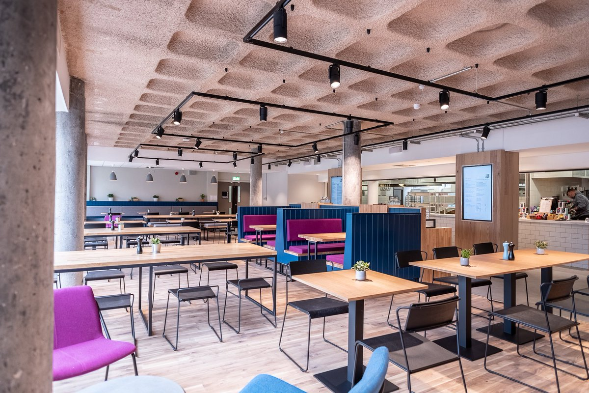 Uoe Cafes On Twitter The Cafe At The Hunter Building At The Edinburgh College Of Art Relaunched Today With A Mouthwatering Menu And New Look Open 8 30 To 5 00pm Breakfast Lunch Coffee
