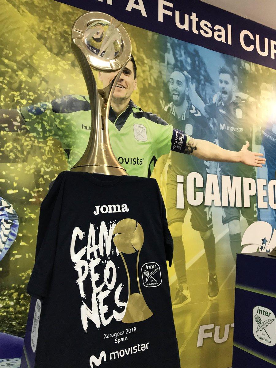 dbef0441e22 excellent movistar inter fs on twitter tienda campeones uefa futsal cup  venta exclusiva el prximo viernes