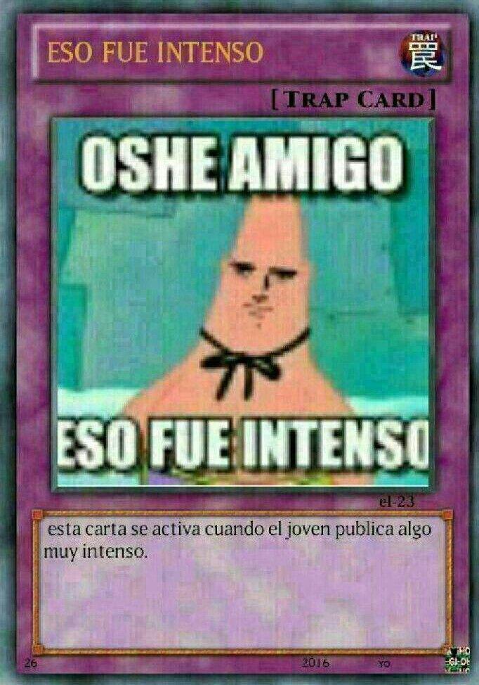 Memes de cartas de Yu-Gi-Oh!