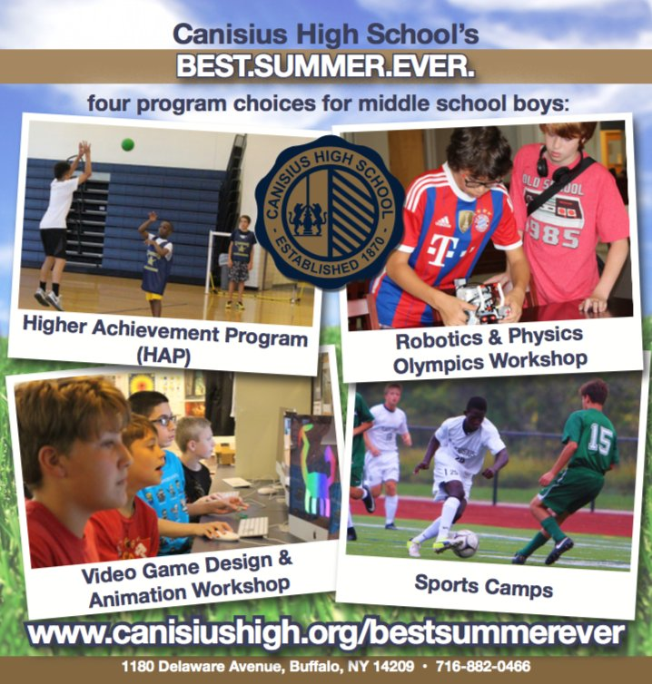 Video Game Design Summer Programs High School Students: Canisius High School on Twitter: Now is the time to sign up for rh:twitter.com,Design
