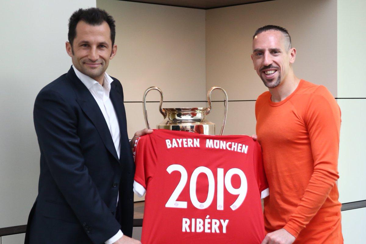 Ribéry prolonge jusqu'en 2019 ! (Officiel) — Bayern