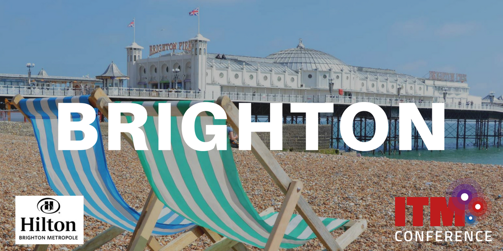 SAVE THE DATE!  We are delighted to announce that ITM Conference 2019 will be held in BRIGHTON!  Tue 30th April- Wed 1st May  #ITMtweets #ITMConference <br>http://pic.twitter.com/4hyCdgjx20