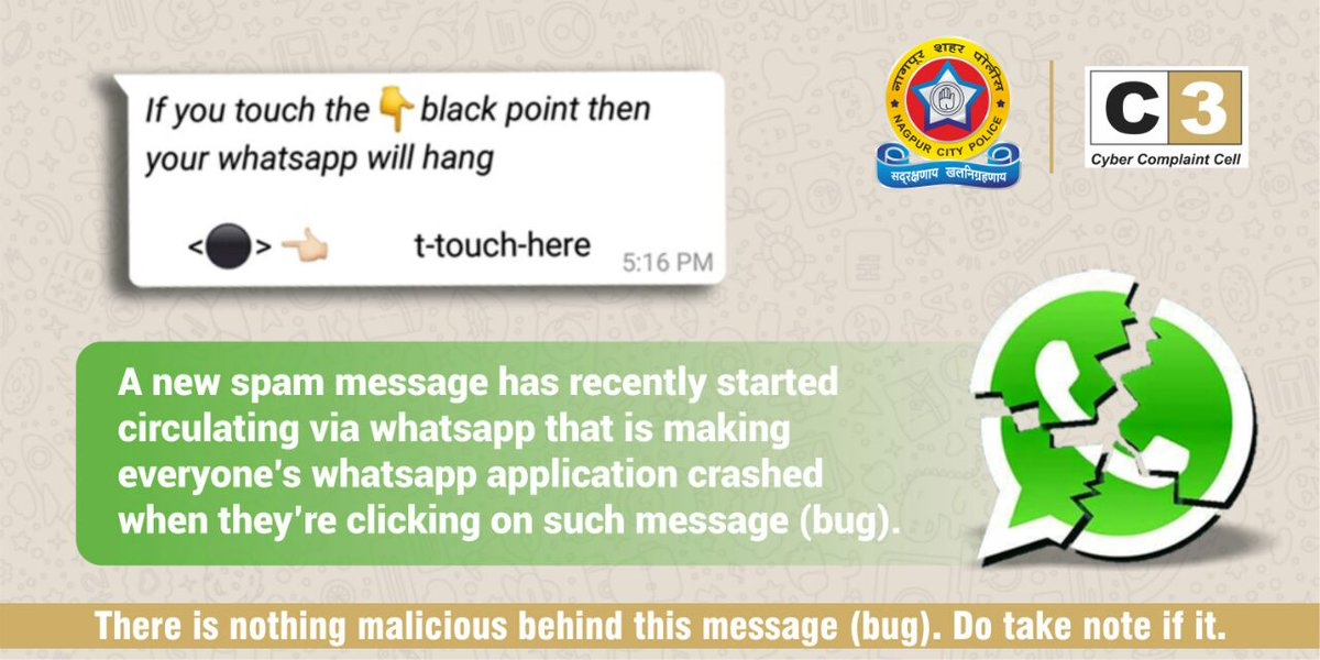 Nagpurcitypolice On Twitter A Superfluous Amount Of Invisible