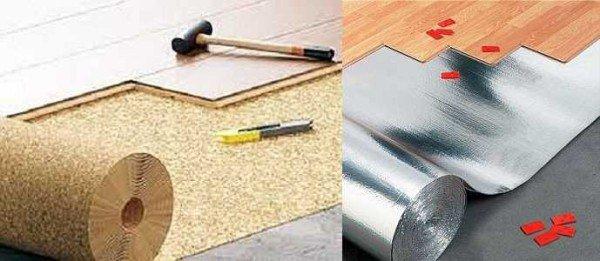 подложка под ламинат какая лучше на бетон