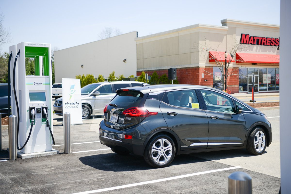 ... state-of-the-art electric vehicle charging system. These new ultra-fast chargers will help us better serve our patrons by charging EVs up to 20 miles ...