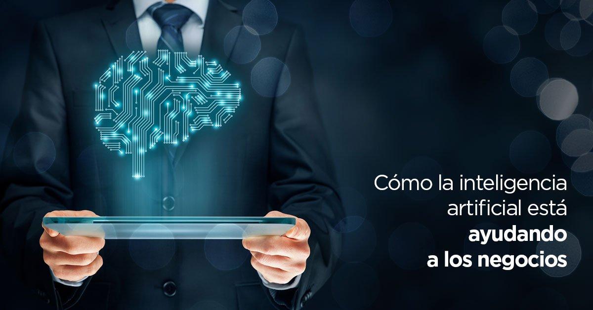 Cómo la inteligencia artificial está ayudando a los negocios https://t.co/ncToWDkPEQ https://t.co/7h97PS00p4
