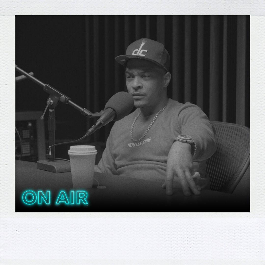 In one hour! #RapRadarPodcast T.I. @Tip #TIDAL https://t.co/IPbxcp34XF