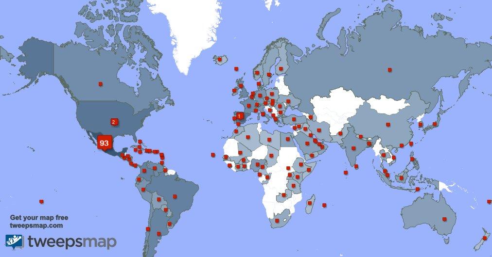 Tengo 851 nuevos seguidores, desde México, España, Brasil, y más durante la última semana https://t.co/7HGgAVVIMn https://t.co/yL9VvMvEEi