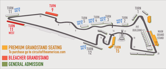 circuit of the americas seating chart turn 15 - DanadaDanada