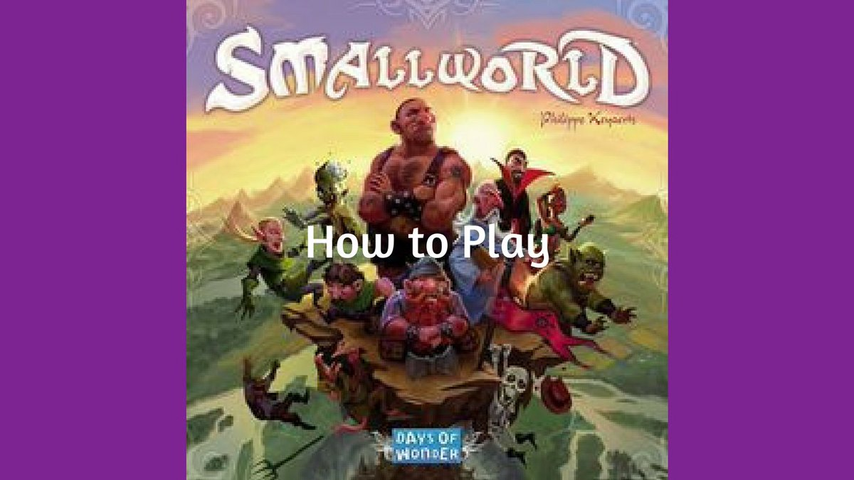 Check out my How to Play video on #SmallWorld designed by #PhilippeKeyaerts and published by @days_of_wonder. https://youtu.be/QJH6n-yNzGEpic.twitter.com/nsIC9RLELZ