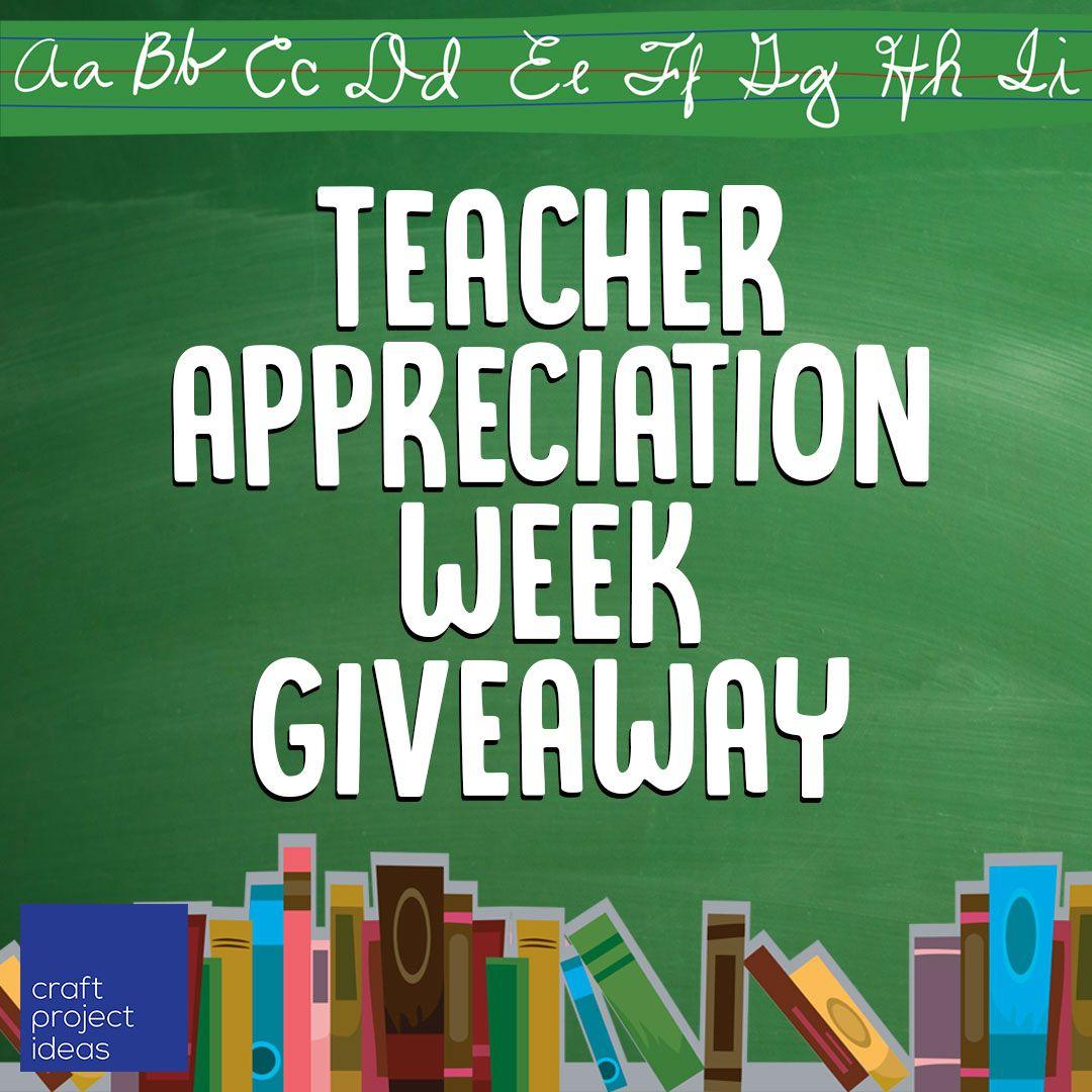 Craft Project Ideas On Twitter Happy Teacher Appreciation Week