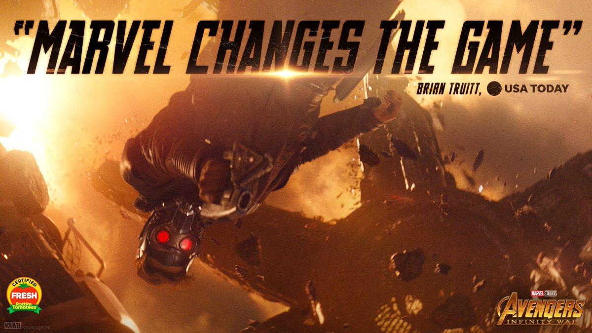 See Marvel Studios @Avengers: #InfinityWar in theaters NOW. Get tickets: fandango.com/infinitywar