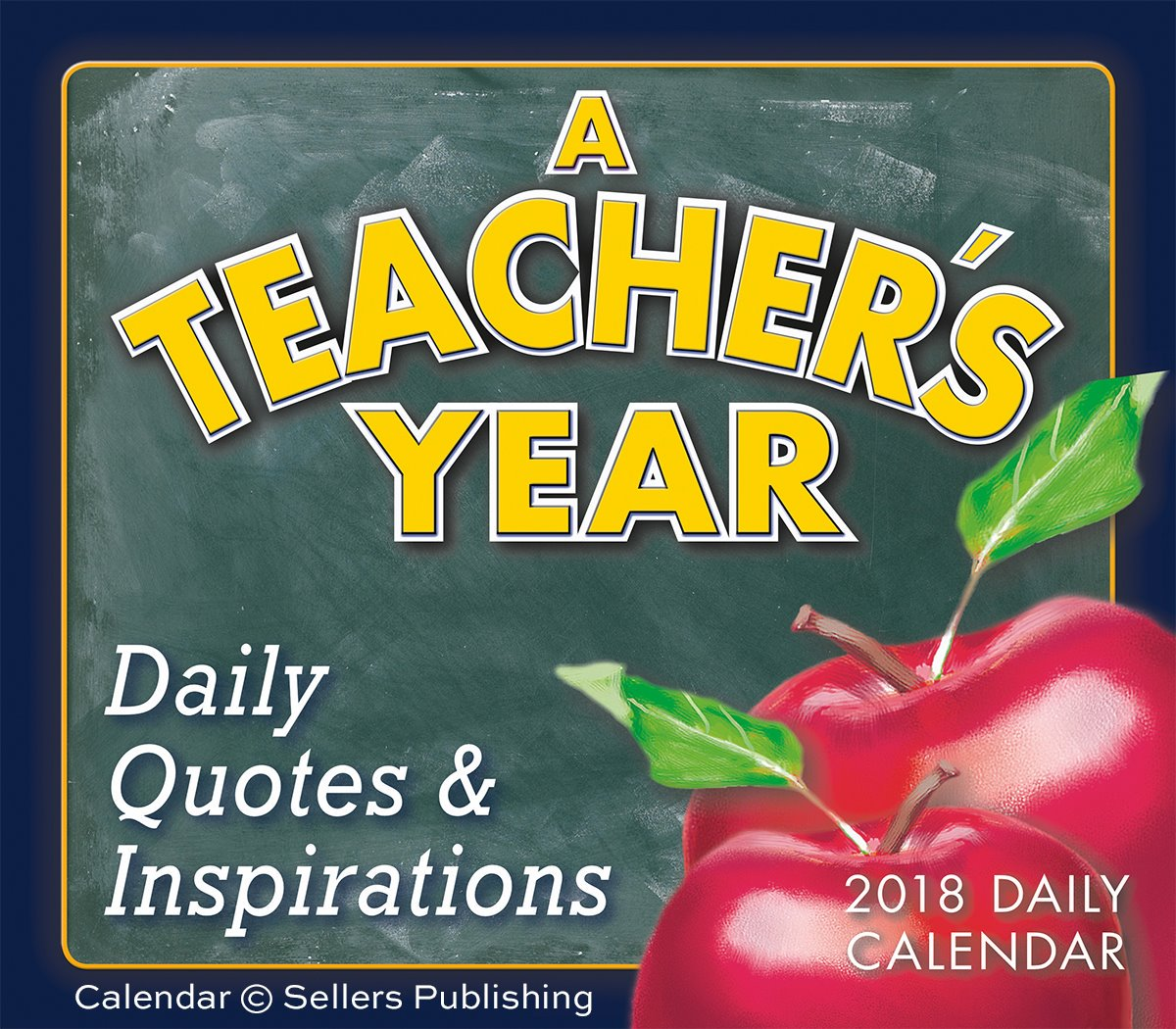 We hope to inspire, honor, and appreciate teachers every day with our boxed daily calendar, A Teachers Year. Happy National Teacher Appreciation Week! (Tomorrow is National Teacher Day.) #teachers #NationalTeacherAppreciationWeek #NationalTeachersDay #Iloveteachers #teachersrock