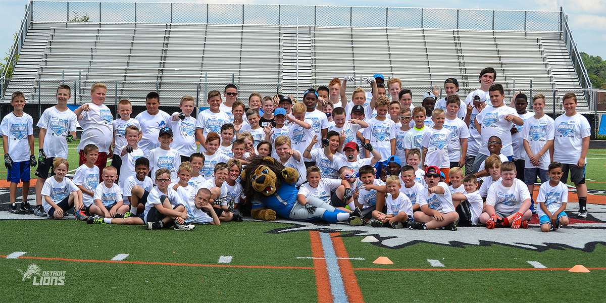 Detroit Lions on Twitter: 2018 @Lions Summer Football Camps kickoff