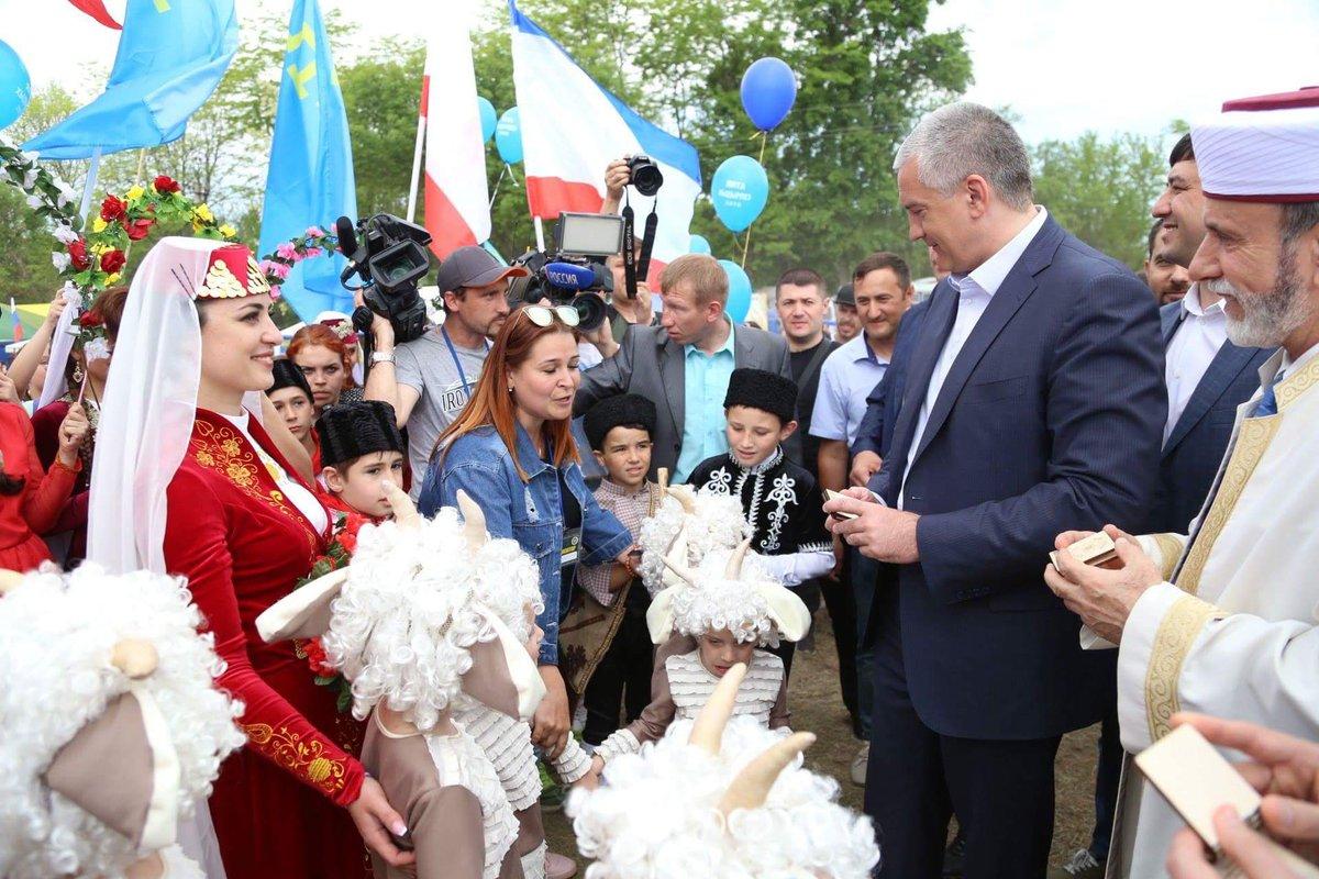 #Kırım'da Hıdırellez bayramı coşkuyla kutlandı. #Rusya #KırımTatarları